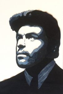 denim art, denimart, popart, pop art, unika, unik, george michael